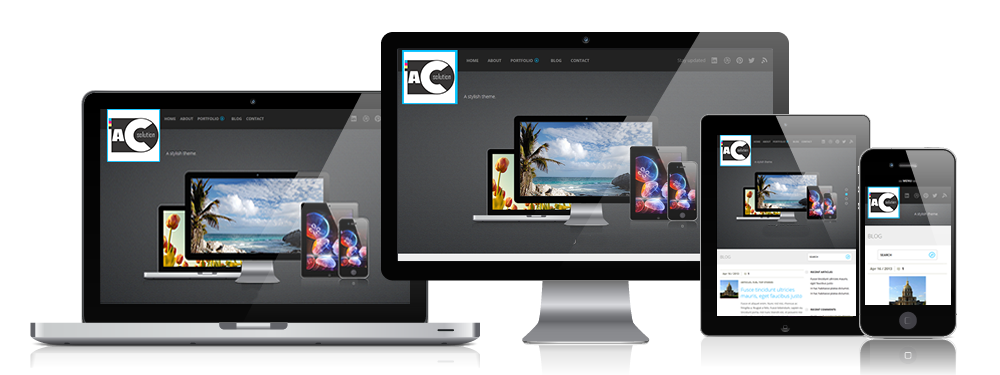 Sua empresa em todos os dispositivos digitais com site e aplicativos.